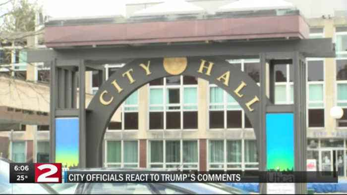 City officials react to President's Upstate Comments