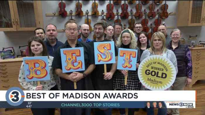 Madiosn Magazine visits businesses to announce 2019 Best of Madison winners