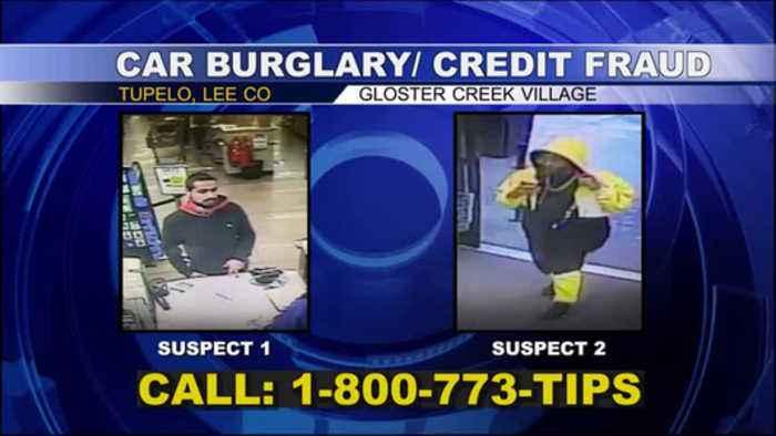 Tupelo Car Burglary/Credit Card Fraud Suspects - 03/11/19