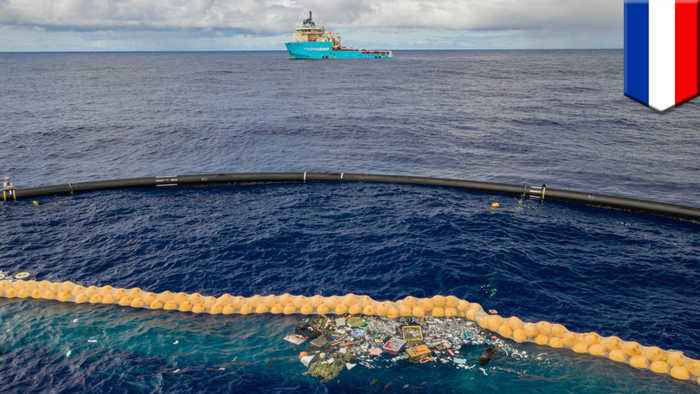 Ocean Cleanup's new system successfully collects plastic