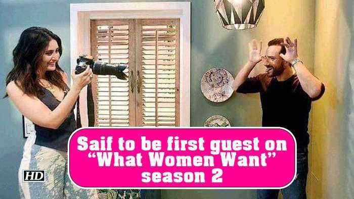Saif Ali Khan to be first guest on Kareena's 'What Women Want' season 2