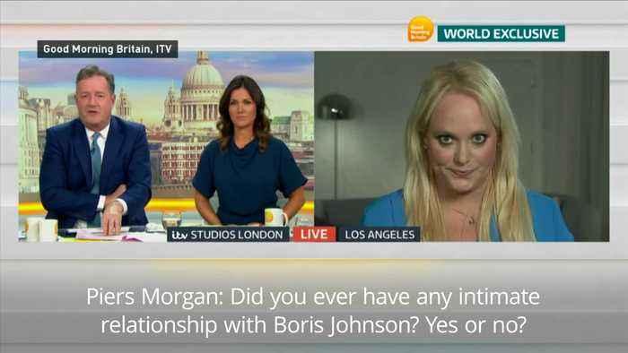 Jennifer Arcuri refuses to rule out affair with Boris Johnson