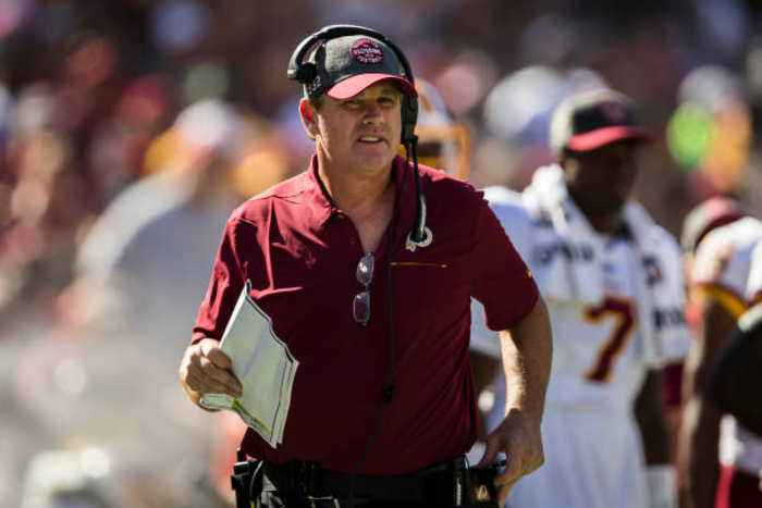 Washington Redskins Fire Coach Jay Gruden
