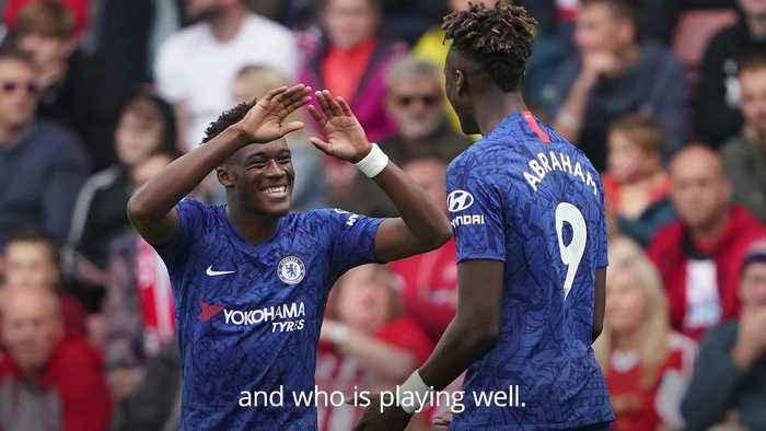 Hudson-Odoi: Chelsea transfer ban is a good thing