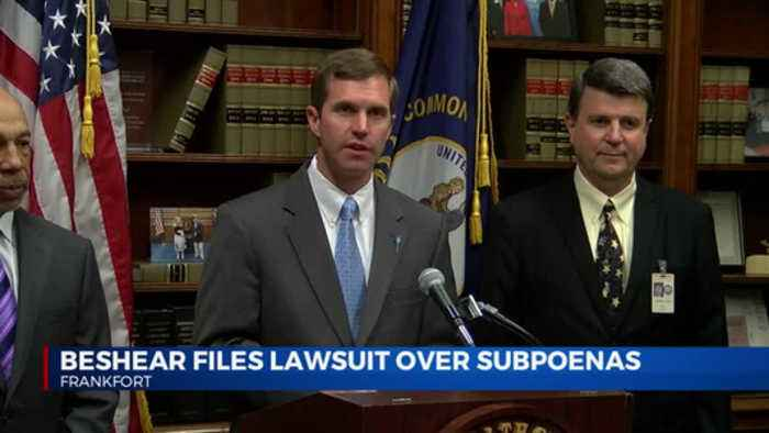 Beshear Files lawsuit over subpoenas
