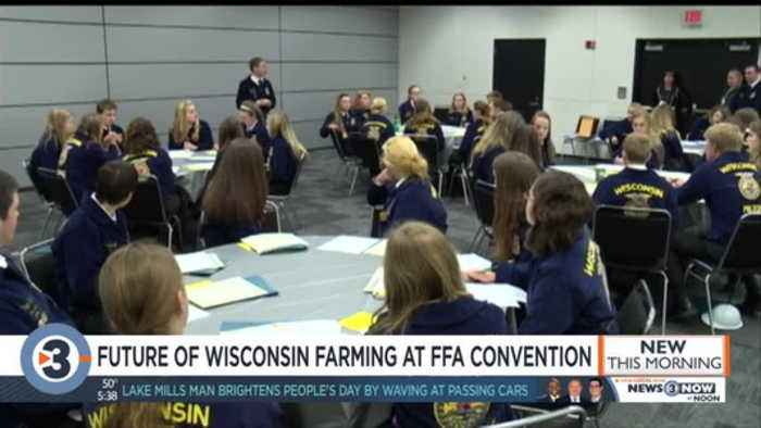 FFA Convention taking place in Madison this week