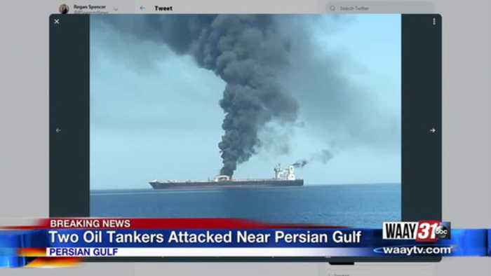 Two Oil Tankers Attacked Near Persian Gulf