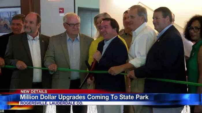 New upgrades showcased at Joe Wheeler State Park in Rogersville