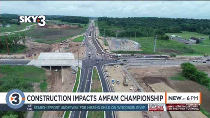 Construction likely to cause delays for AmFam Championships