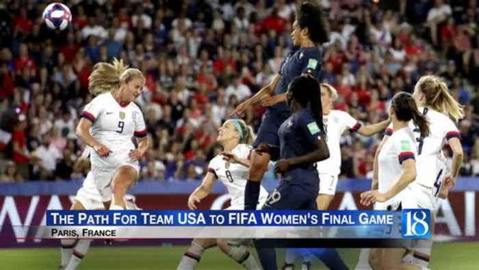 Locals ready to support team USA in FIFA Womens' World Cup Final game