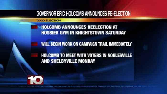 Holcomb Announces Re-Election Bid