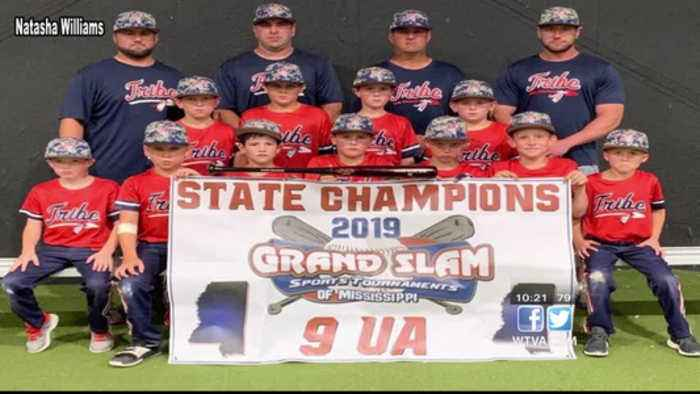 Tombigbee Tribe 9U baseball team wins state championship