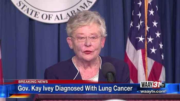 Alabama Gov. Kay Ivey announces 'very treatable' lung cancer diagnosis