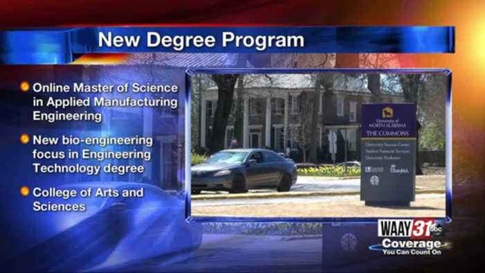 New Programs Offered at UNA