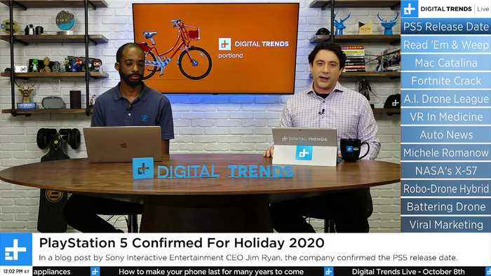 Digital Trends Live - 10.8.19 - A Battering Ram Drone + The MacOS Catalina