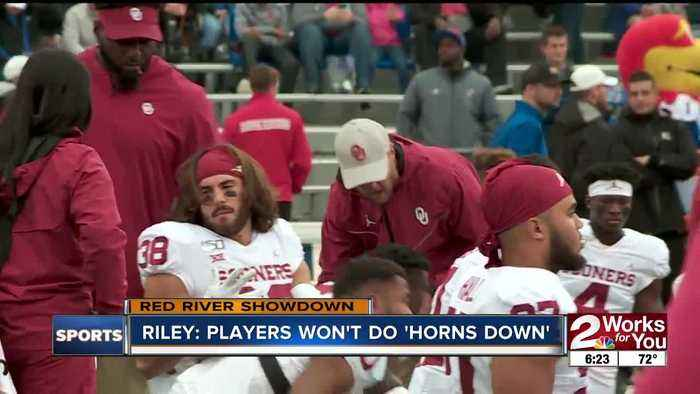 Lincoln Riley: OU players won't use 'Horns Down' signal in Red River Showdown with Texas