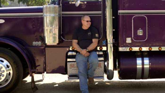Truck drivers on Trump: 'He's my president'