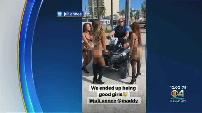 Miami Beach Police Officer Relieved Of Duty, Investigated For Fake Arrest Of Lingerie-Clad Woman