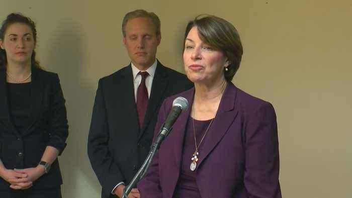 Senator Klobuchar Calls For More Election Security