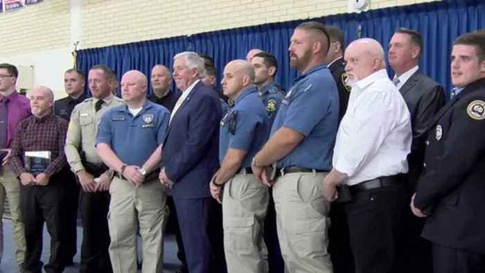 Several area public safety officers honored by governor