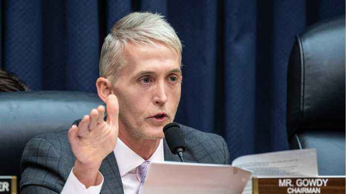 Former Representative Trey Gowdy To Trump's Legal Team