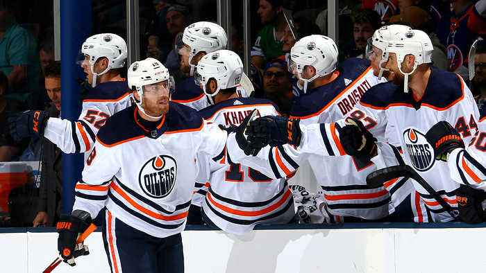 James Neal scores four goals for Edmonton Oilers