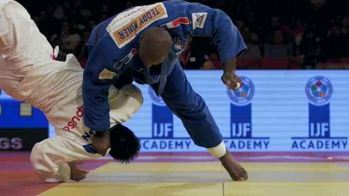 Brazil Judo Grand Slam: Main focus was on Teddy Riner of France