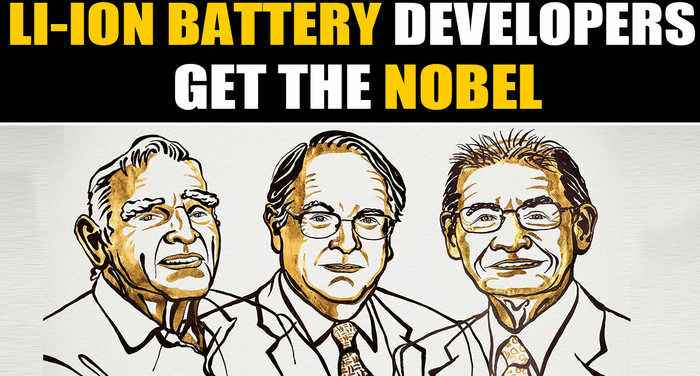 Nobel prize in chemistry for development of Lithium ion batteries | OneIndia News