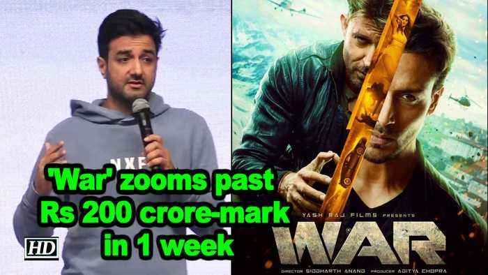 'War' zooms past Rs 200 crore-mark in 1 week