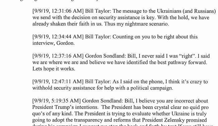 Trump blocks ambassador's impeachment testimony