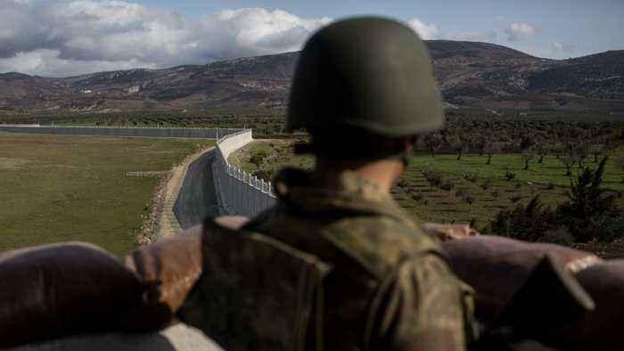 Turkey Military Operations Underway In Northern Syria