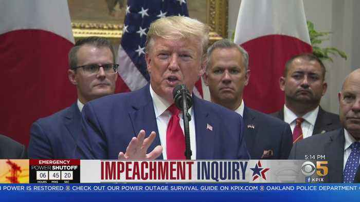 Impeachment Inquiry: Trump Administration Says It Will Not Cooperate With Probe