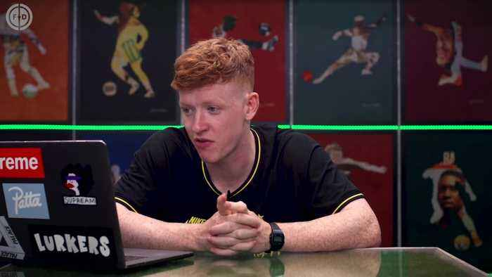 FOOTBALLERS REACT TO THEIR FIFA 20 CARDS! | #WNTT