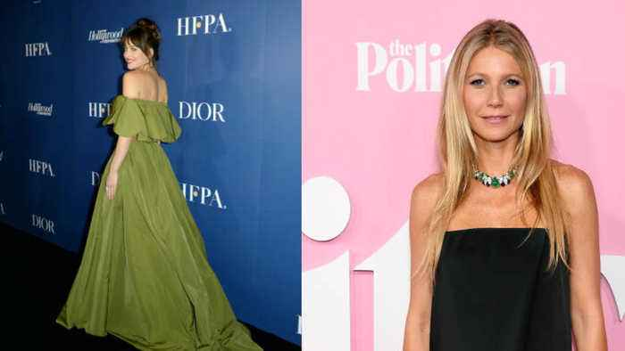 Gwyneth Paltrow partied at Dakota Johnson's birthday bash