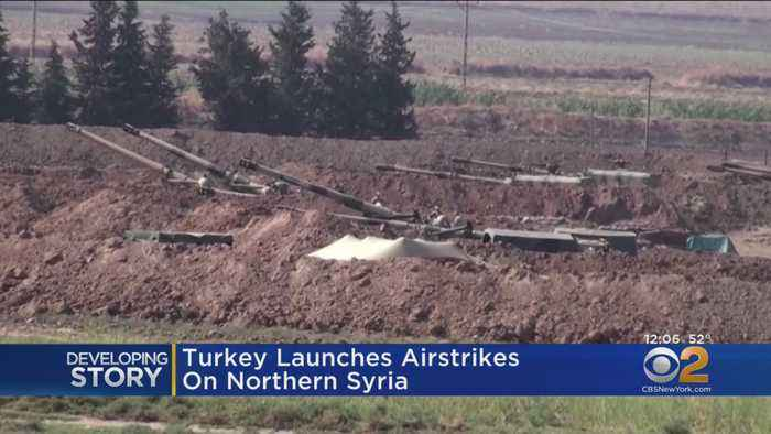 Turkey Launches Airstrikes On Northern Syria