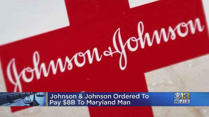 Johnson & Johnson Ordered To Pay $8 Billion To Maryland Man