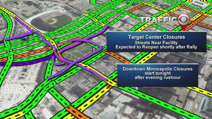 Traffic Guide: Closures, Detours Expected For Trump Visit