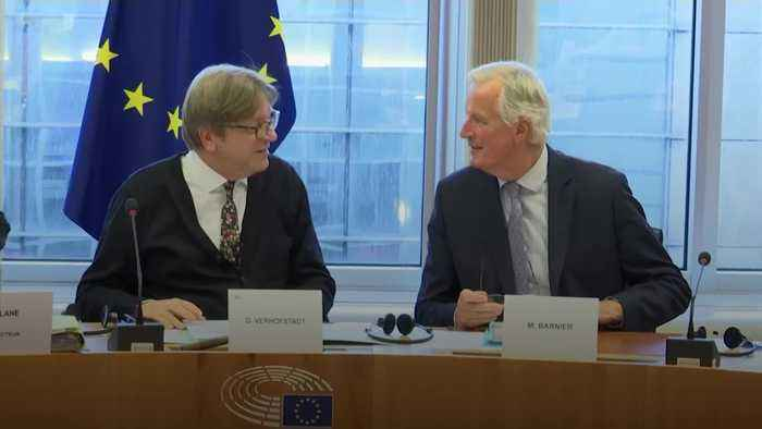 Barnier: Brexit deal 'very difficult, but possible'