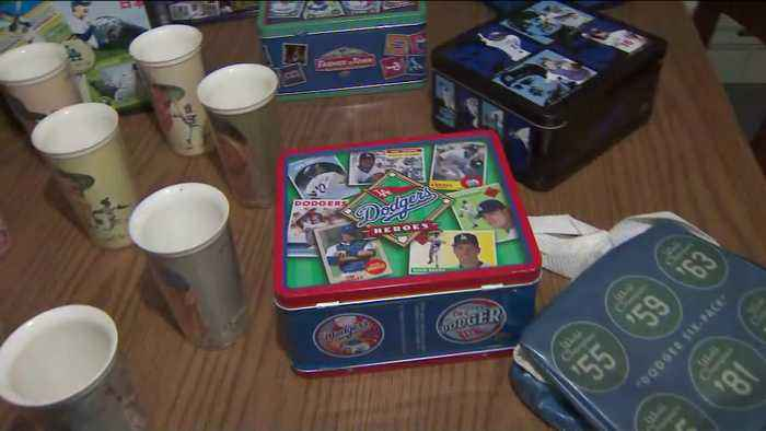 SoCal Man Shows Off Extensive Dodgers Memorabilia Collection Ahead of NLDS Game 5