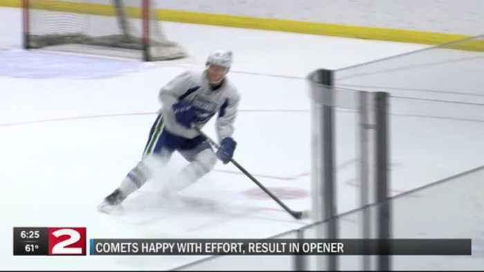 Comets pleased with effort in season opening win