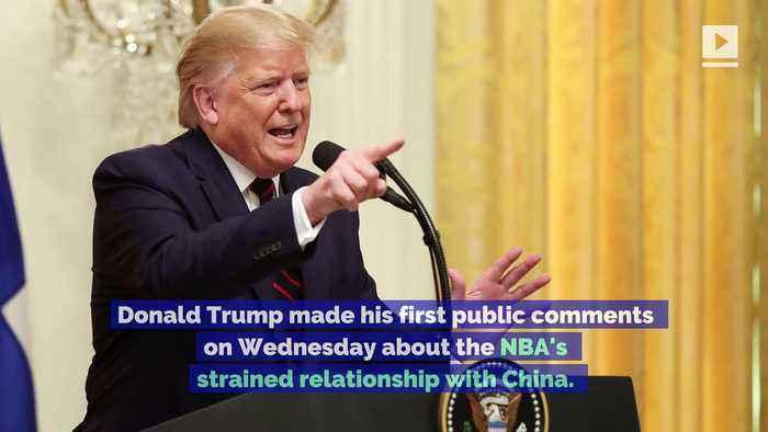 President Trump Criticizes Steve Kerr and Gregg Popovich in NBA China Controversy