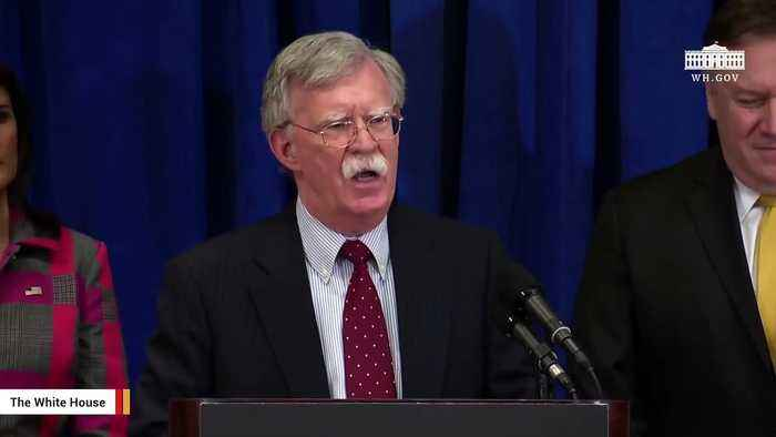 Report: John Bolton Working On Book About His Trump Administration Days