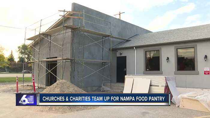 Churches and charities team up to build food pantry in Nampa