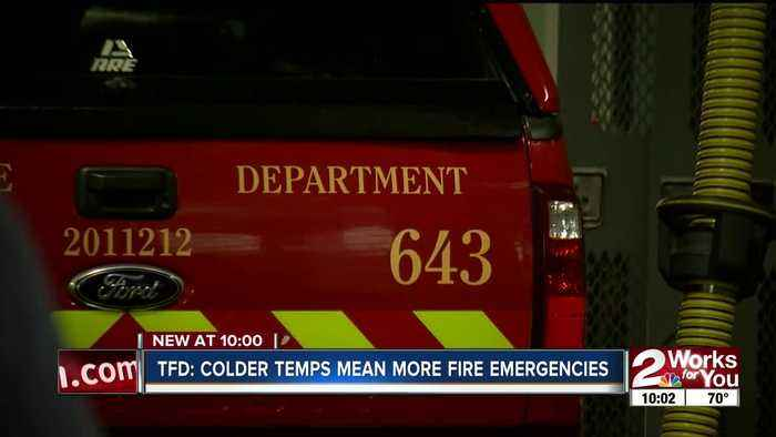 TULSA FIRE DEPT SEES SPIKE IN CALLS DURING COLD WEATHER