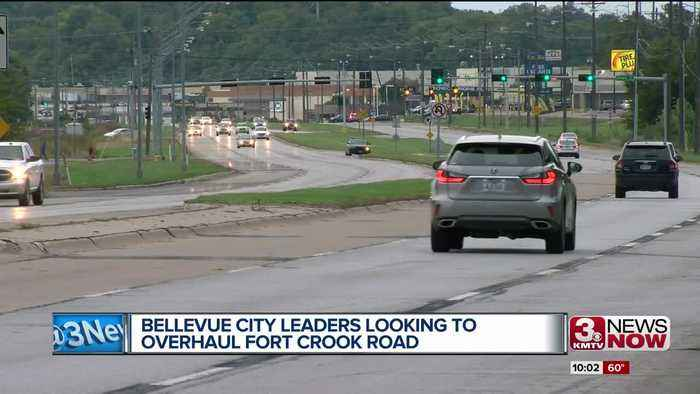 Bellevue looking to overhaul Fort Crook Road