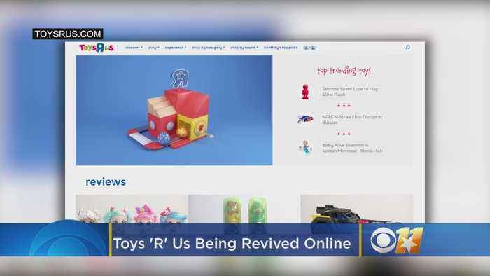 Just In Time For Christmas, The Toys 'R' Us Brand Is Being Revived Online At Target