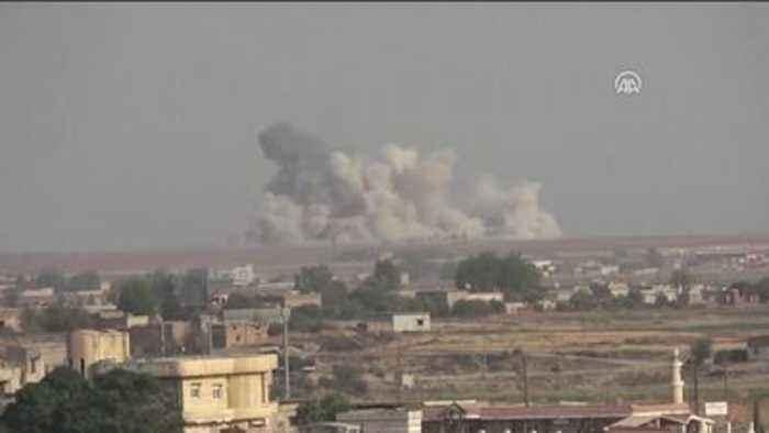 Turkey starts ground offensive into Syria