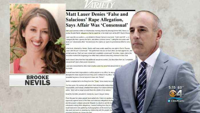 Stunning New Report Reveals Rape Allegation Against Matt Lauer