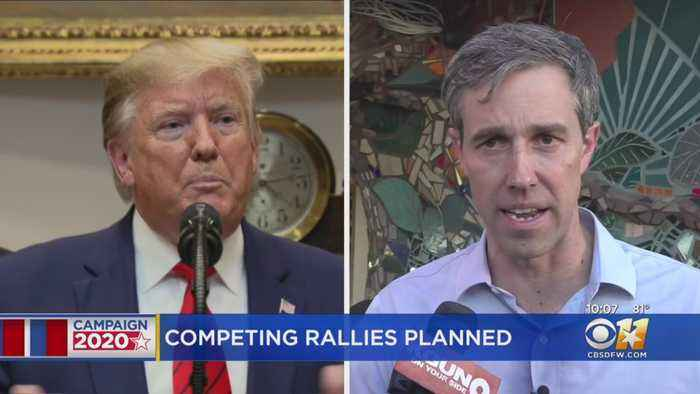 President Trump, Beto O'Rourke To Hold Competing Rallies In North Texas Next Thursday