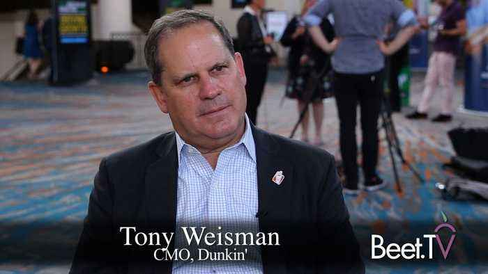 Dunkin's Weisman: Constant Innovation Is Key to Survival